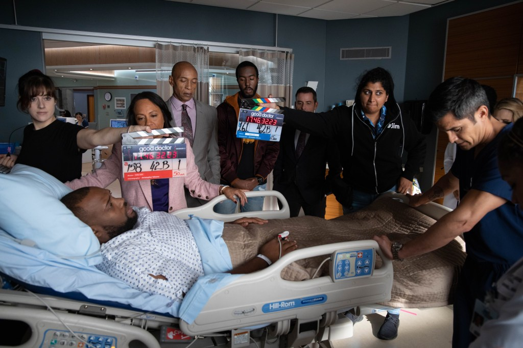 Good Doctor Season 3 recap Episode 10 PETER BRYANT JAMES EARL, LIZA HUGET, PETER BRYANT, XANDER HALL, NICHOLAS GONZALEZ