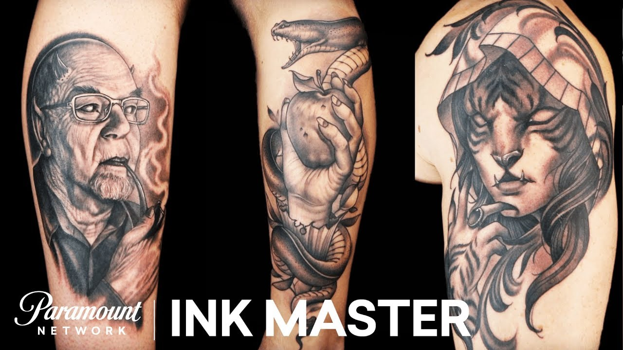 Ink Master Which is the best Freehand Tattoos Compilation