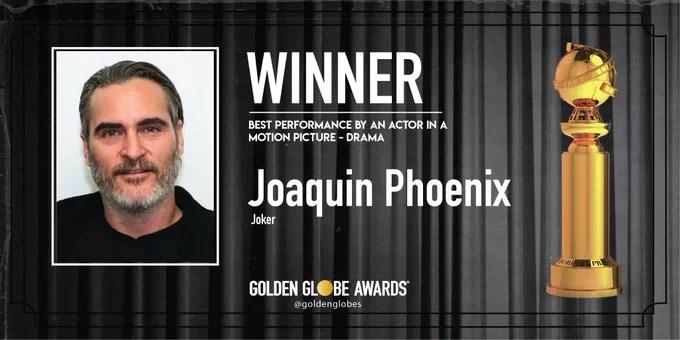 Joaquin Phoenix - Best Performance by an Actor