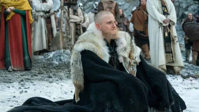 Vikings season 6 episode 8Alexander Ludwig stars as Bjorn Ironside. Pic credi Jonathan Hession- History Channel