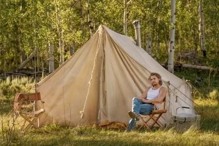 Yellowstone season 3 episode 4 - Going Back to Cali Luke Grimes as Kayce Dutton.