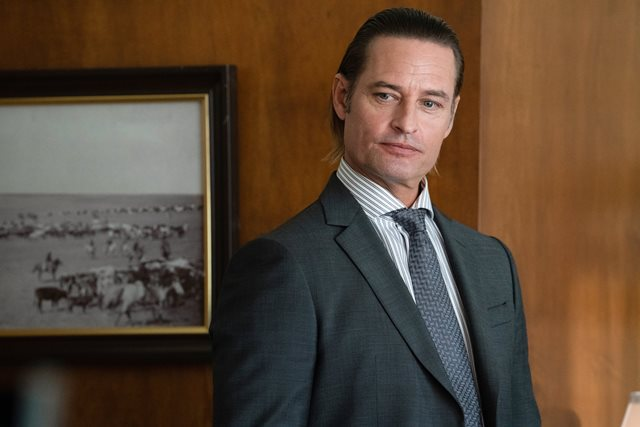 "Josh Holloway as Roarke Morris. The Season Three Finale of Yellowstone - ""The World is Purple"""