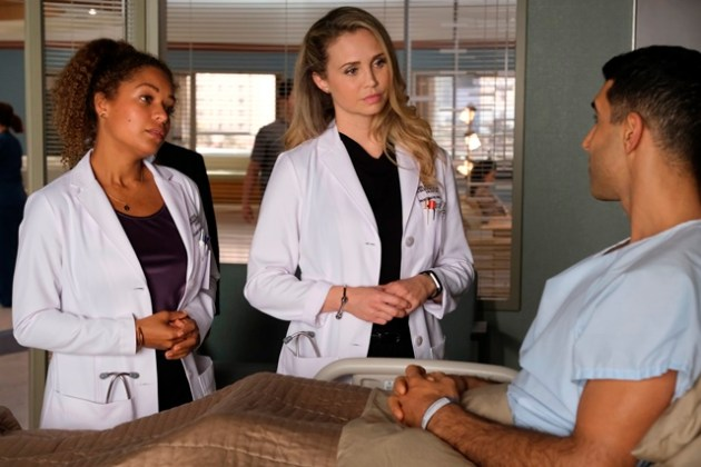 The Good Doctor Season 4 Episode 3 Photo ANTONIA THOMAS, FIONA GUBELMANN