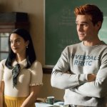Riverdale'-Season-5-Episode-6-Camila-Mendes-as-Veronica-Lodge-and-KJ-Apa-as-Archie-Andrews-in-the-high-school-after-the-seven-year.