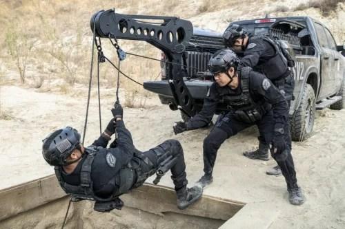 SWAT Season 4 Episode 10 Buried Photos