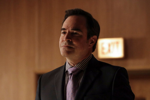 "THE BLACKLIST -- ""The Fribourg Confidence (#140)"" Episode 805 -- (Pictured: Roger Bart as Scooter Rovenpor -- (Photo by: Will Hart/NBC)"
