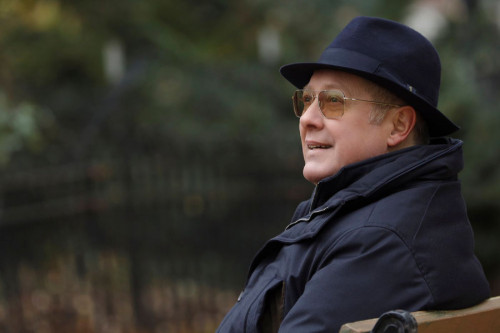 "THE BLACKLIST -- ""The Fribourg Confidence (#140)"" Episode 805 -- (Pictured: James Spader as Raymond ""Red"" Reddington -- (Photo by: Will Hart/NBC)"