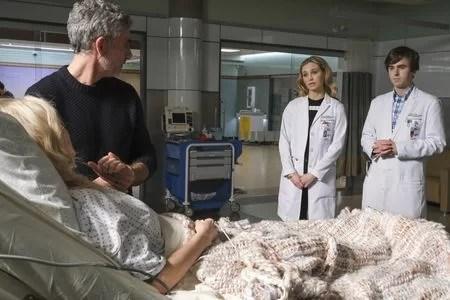 The Good Doctor Season 4 Episode 11 FIONA GUBELMANN, FREDDIE HIGHMORE