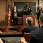 ALYSSA DIAZ, RICHARD T. JONES in The Rookie Season 3 Episode 14