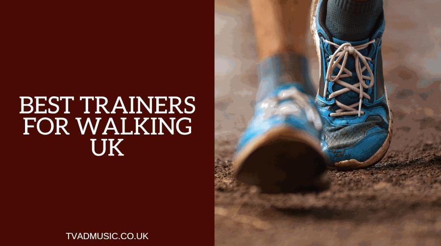 best walking trainers uk