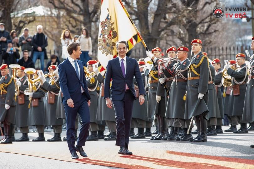 Premijer Republike Grčke Kyriakos Mitsotakis u službenoj posjeti Austriji