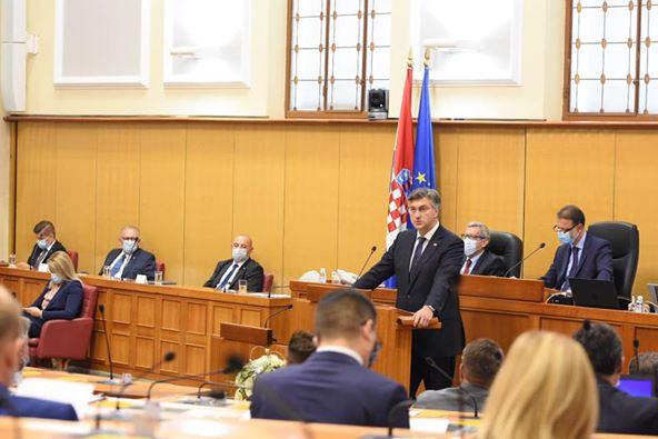 Hrvatska : Dobili smo novu Vladu: Nakon maratonske sjednice 76 zastupnika glasalo ZA, a 59 PROTIV