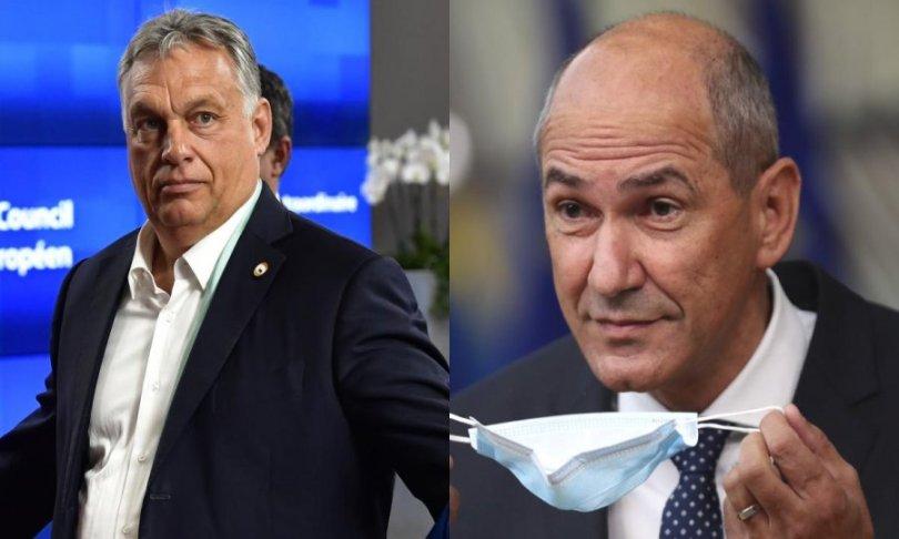 Orban tvrdi da nizozemski premijer želi kazniti Mađarsku jer ga osobno mrzi, Janša poludio na prozivke da je stao uz Orbana: 'Lažete gore nego pas u bijegu'