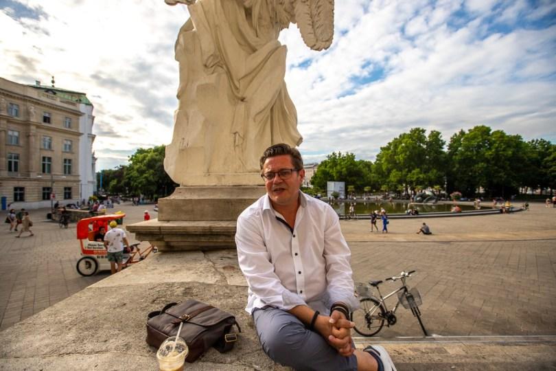 Na kavi sa .. Branimir Tončinić direktor predstavništva HTZ-a u Beču