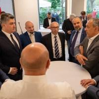 VEZE S DOMOVINOM SU VAŽNE: Nakon Austria World Foruma Milanović posjetio Udrugu hrvatskih poduzetnika u Beču