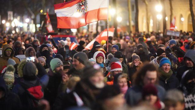 Policija zabranila 15 demonstracija protiv  korone tijekom vikenda u Beču