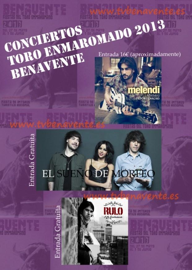 conciertos benavente 2013