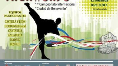 "Photo of PRIMER CAMPEONATO INTERNACIONAL DE TAEKWONDO ""CIUDAD DE BENAVENTE"""