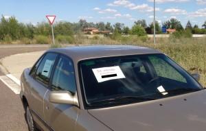 venta vehiculo via publica