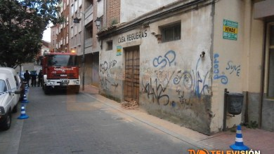 Photo of DERRUMBADO UN TEJADO DE UN ANTIGUO INMUEBLE DE LA CALLE MADRID EN BENAVENTE