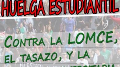 Photo of HUELGA DE ESTUDIANTES LOS DÍAS 26 Y 27 DE MARZO
