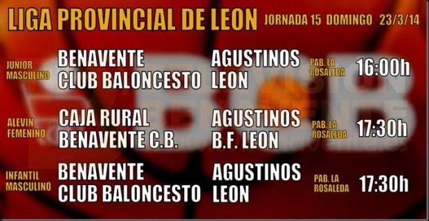 liga provincial leon - benavente baloncesto