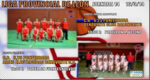 liga provinvial leon benavente club baloncesto