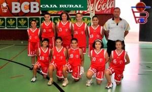 alevines femenino benavente baloncesto