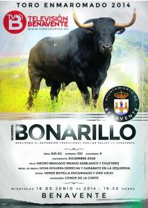 BONARILLO TORO ENMAROMADO 2014