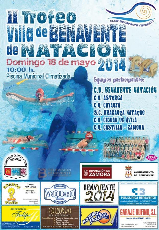 cartel_trofeo_natacion_benavente_2014