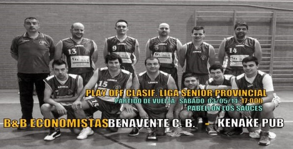 play off liga senior provincial benavente baloncesto