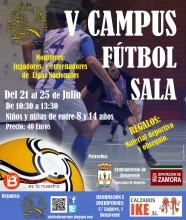 Campus Futbol Sala Benavente Cartel