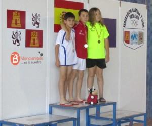 Diego Carro campeón en 100libres