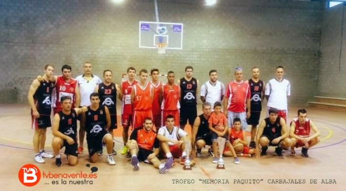 baloncesto Benavente torneo memorial paquito carbajales de alba
