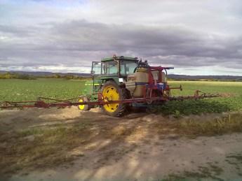 sulfatadora tractor