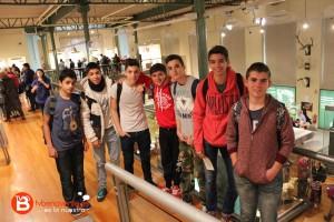 Alumnos en el Museo Nacional de Ciencias Naturales