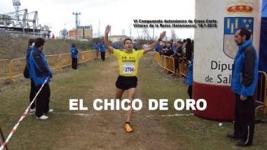 Photo of Eduardo Martínez (Solo Runners) y Jesús Manrique (Benavente At.) campeones.