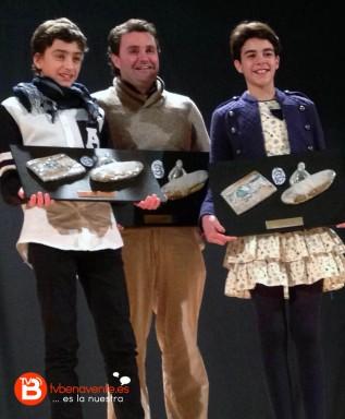 Javier Huerga, Fernando Zanfaño y Carmen Florez