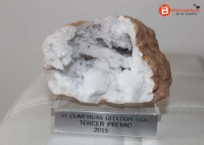 Tercer Premio de la VI Olimpiada de Geología
