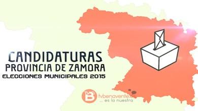 Photo of LISTAS DE TODAS LAS CANDIDATURAS DE LA PROVINCIA DE ZAMORA – ELECCIONES MUNICIPALES 2015