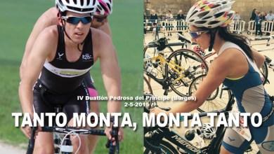 Photo of Teresa Herráez subcampeona  de Castilla y León de duatlón sprint. Sixto Vaquero vence en cadetes