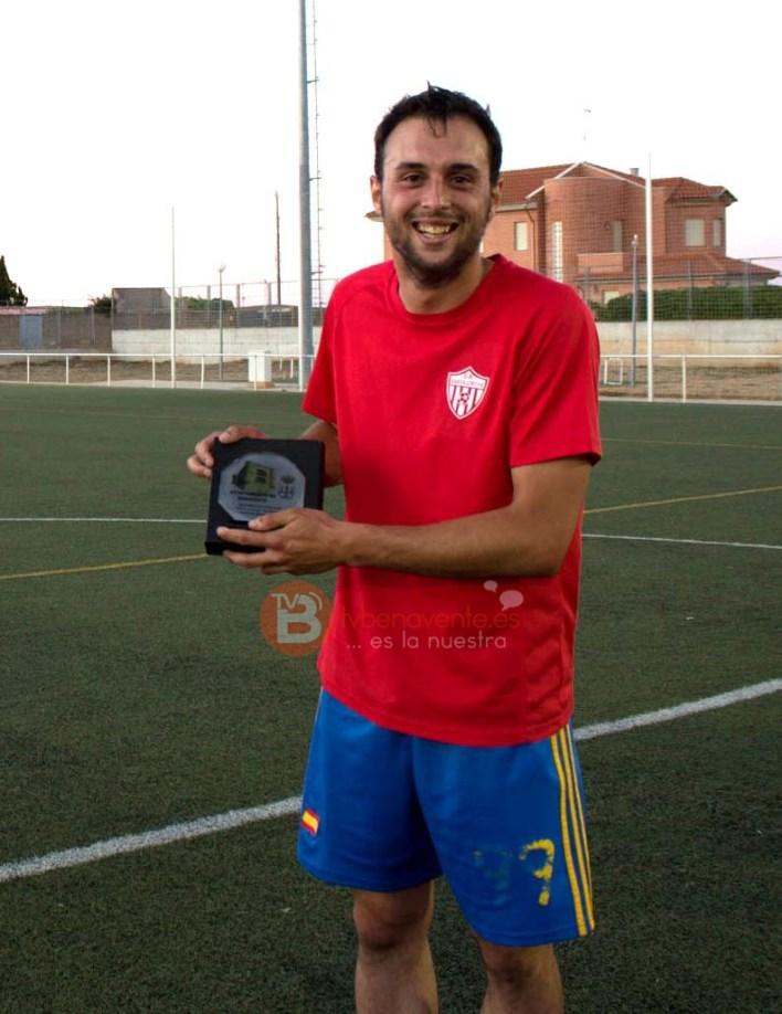 Máximo Goleador de la Liga F7 Benavente - Temp.2014/2015