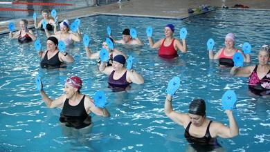 Photo of El viernes 26 de Junio, gimnasia en el agua en la piscina cubierta de Benavente