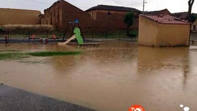 Photo of Las últimas lluvias inundan el parque infantil de San Miguel del Valle