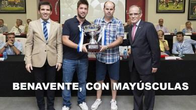 Photo of Benavente reina en la entrega de trofeos de la Federación de Castilla y León de fútbol