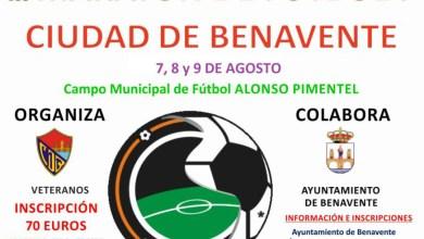 Photo of El C.D Benavente Veteranos organiza el III Maratón de Fútbol 7