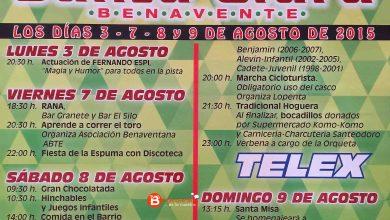 Photo of Programa de fiestas barrio de Santa Clara de Benavente 2015