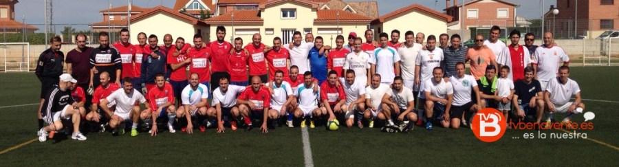 Segundo reencuentro futbol - Benavente - Virgen de la Vega - TVB - 2