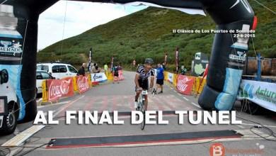 Photo of Javier Castaño tercero en la Clásica de Somiedo para cicloturistas.