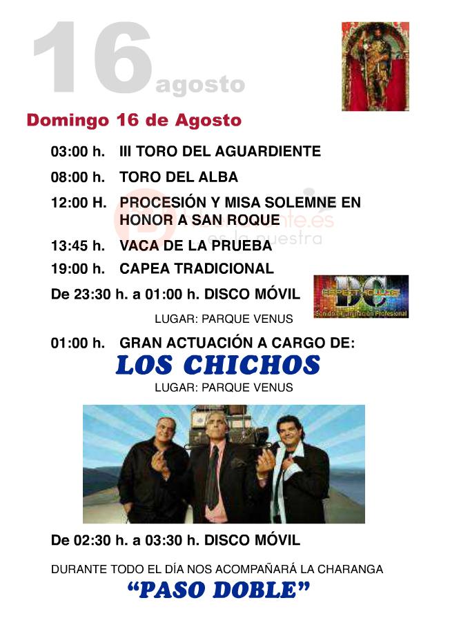 programa san roque villalpando 2015 - 3 tvbenavente
